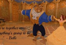 Beauty and the Beast Quotes / Famous Disney Beauty and the Beast Quotes on Love from Rose, Belle, Gaston and Lumiere. Funny, cute and inspirational beauty and the beast quotes. / http://www.goodmorningquote.com/beauty-and-the-beast-quotes/