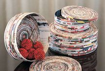 Thrifty Recycling / Thrifty Inspired Recycling Activities - upcycle and create new things from old.