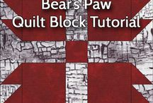 Quilting - Bear Paw