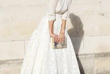 Bridal separates / Bridal separates are the hottest trend for 2015. Mix and match with designer and high street, have a skirt and jumper combo for a winter wedding, or a lace top and shorts/skirt for summer.