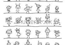 Kreslené deti