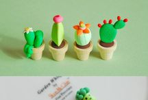 Clay figurines / Little bundles of clay