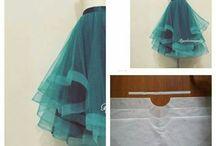 юбка  сетка