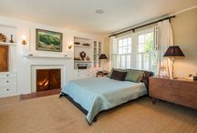 fireplace on floor