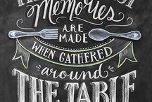 Restaurant lettering