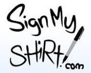 Sign My Shirt / Custom t-shirts from SignMyShirt.com
