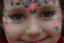 Projetos de pintura de rosto