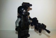 my minifigures army / #SWAT #LEGO