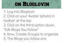 Bloglovin / by L E