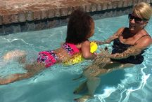 Nekdoodle® Learn To Swim / The Nekdoodle® is a great swim aid to help kids learn to float and be comfortable in the water. It is also a great kickboard...the soft, warm, and fuzzy kickboard as opposed to Styrofoam cold and hard. Kids love it!