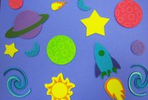 Space Storytime / Books, crafts, songs, flannel stories, and more for a space themed storytime.