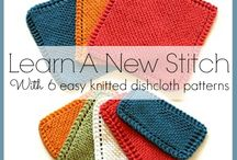 Knit a Dish Cloth