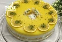 Limonlu kedidir pasta