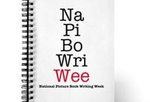 National Picture Book Writing Week / NaPiBoWriWee: From Midnight May 1st (your time zone) to 11:59 PM May 7th (your time zone), you must try to write 7 picture books in 7 days.