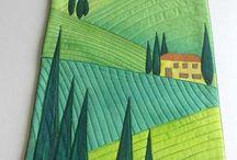 Paesaggi  landscape quilt