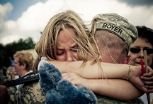 Military homecoming / by Allison Pereira