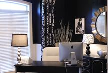 Office/music room / by Allison Demer