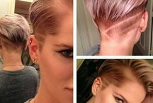 HAIR / Short hairstyles and colour