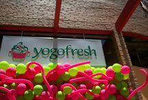 Lojas Yogofresh / Acompanhamento  de Obra