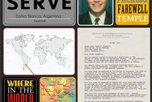 Missionary scrapbook project