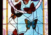 vitrais - o Art Nouveau