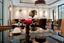 Restaurant& Bar Le Baudelaire / http://www.lebaudelaire.com/index_fr.html / by Le Burgundy Paris