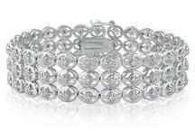 Diamond Bracelets / Diamond Bracelets From Gemologica (Online at Gemologica.com)