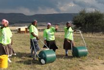 Hippo Water Roller Events / Handover events of the Hippo Water Roller Project
