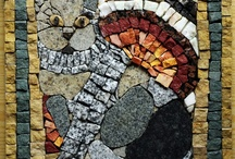my mosaic cats