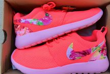 Shoes / These are cute custom made nikes