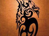 Vlk tatto