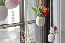 EASTER WINDOW DECOR