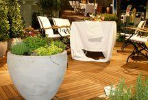 Terrassendielen / Bei uns finden Sie über 40 verschiedene Terrassendielen in den verschiedensten Formaten.