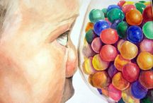 AP Art (Advanced HS Art) / AP studio art ideas, lessons, handouts, worksheets, examples of AP art projects