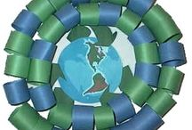 Seasonal: Earth Day and Recycling Ideas in Art