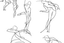 Sketching Gesture / Tutorials and references