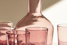 Pink Glassware