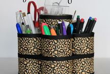 Organization: Office Desk / Basically, back to school rediness