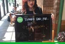 Fiverr - #ThanksDadFor / In honor of Fathers Day, we're thanking our dads for all that they do and the roles they've played in helping us become the people we are today, one hashtag at a time. Learn more about this campaign and how you can win a brand new Apple iPad Mini at blog.fiverr.com! #ThanksDadFor / by Fiverr