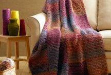 Sguares afghan blanket pattern