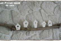 petites maisons blanches