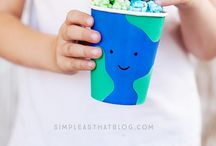 Earth Day - Recipes / What kid doesn't love treats? Here's some Earth Day recipes to make with your little ones!