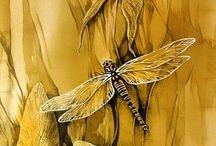 Bug Watercolours