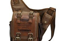 bags, valets and cases / Leather and canvas