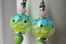 Customers jewellery made with my beads and findings