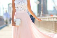 White and pink galla