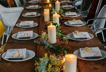 Candle Table Settings