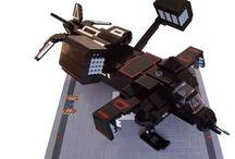 Lego & Gundam / by Mic Sandringham