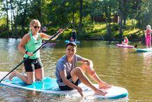 Joki SUP River SUP / Kuvia Kymijoelta Sirius Sportin lähistöltä Photos from River Kymi near Sirius Sport