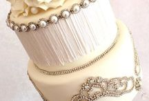 elegant blinged-out wedding